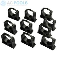 Pipe Clips 65mm - 10 Pack - Georg Fischer KLIP-IT (For PVC Pressure Pipe) Black
