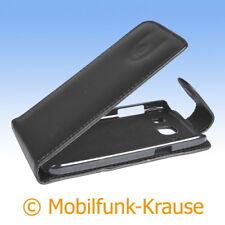 Flip Case Etui Handytasche Tasche Hülle f. Nokia Lumia 925 (Schwarz)