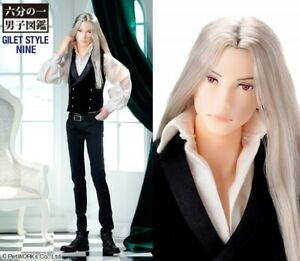 NEW Petworks Momoko Doll Male Boy Man NINE Gilet SOLD OUT Japan *NUDE*