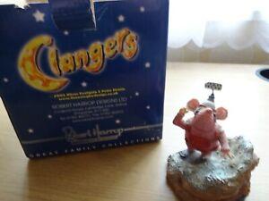 """Robert Harrop - Clangers - CL04 """"Tiny Clanger"""" Figurine Ornament - EBA"""
