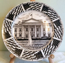 """222 Fifth Slice Of Life WHITE HOUSE 8"""" Salad Plate by MARLA SHEGA Very Good Con"""