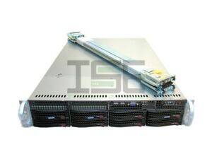 Supermicro X9DRi-F 2U 8 Bay Server 2x E5-2660v2 2.2GHz 20-Cores 4x 4TB 128GB