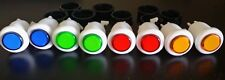 Arcade Push Button bicolor buttons 4 color LOT of 10 with micro switch DISCOUNT
