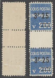 France Parcel Post - MH Stamps I926