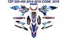 5219 YAMAHA YZ 250F 450F 2014-2016 14-16 DECALS STICKERS GRAPHICS KIT