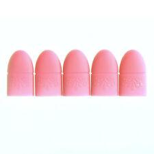 5 pcs Silicone Nail Art Soak Off Clip Cap UV Gel Polish Remover Wrap Tools
