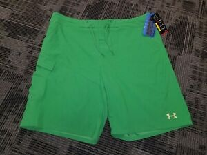 New Mens 40 Under Armour Fishing Shorts Loose Fit Offshore Green