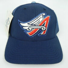 CALIFORNIA ANAHEIM LA ANGELS NAVY BLUE MLB SNAPBACK 1990s RETRO CAP HAT PUMA NEW