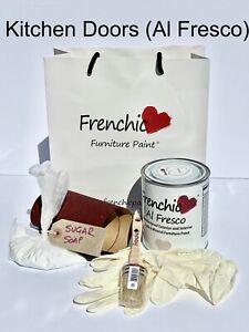 Frenchic Chalky Paint Campervan Caravan Kit Al Fresco Outdoor 750ml Tin FREEPOST