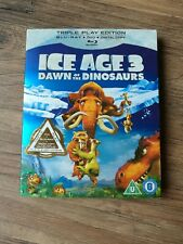 Ice Age 3: Dawn of the Dinosaurs [Blu-ray], DVD |DIGITAL COPY |New. Triple Play.
