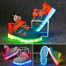 Kinder Mädchen Jungen LED Glow Blinkschuhe Licht Schuhe Kinderschuhe Sneakers