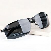 Classic Mens Polarized Sunglasses Driving glasses Aviator outdoor Sports Eyewear