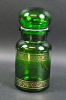 Apotheker Glas aus Belgium Container Belgien 60er Vintage Glasdose 9AJ4