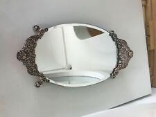 Brighton Contessa Mirrored Vanity Tray In Excellent Preowned Condition