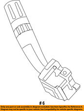 FORD OEM-Windshield Wiper Switch DB5Z17A553AB