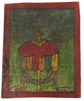 Tsakli Banner Vittoria Quadro Iniziatico Lama Tibetano Mongolia Tibet 429