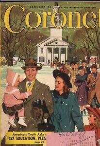 1949 Coronet January-Janet Gaynor;Carl Sandburg;Amnesiac adventures;South Africa