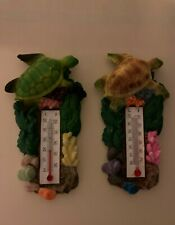 Magnet - Turtle with thermometer design (2pcs) - #3869