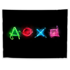 Game Button Tapestry Art Wall Hanging Sofa Table Bed Cover Home Decor