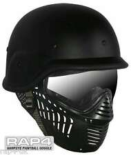 RAP4 Hawkeye Paintball Goggles With US Army/Police Training Helmet