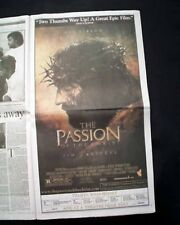 The Passion Of The Christ Movie Pre-Opening Day Ad & Review 2004 L.A. Newspaper