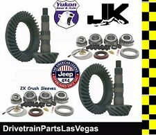 Yukon Jeep Wrangler JK Ring Pinion Master Gear Pkg 07-18 Dana 44 & 30 4.56 Ratio