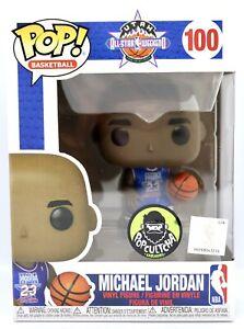Funko Pop Michael Jordan 1993 NBA All Star Weekend # 100 Popcultcha Exclusive