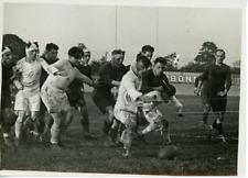 France Paris Match De Rugby Stade Français- C.A.S.G Vintage silver print Tirag