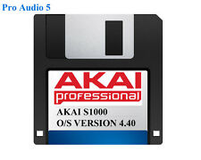 Akai S1000 Operating System on Floppy Disk Version 4.40