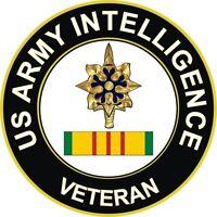 "Army Intelligence Vietnam Veteran 5.5"" Window Sticker Decal"