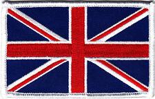 """UNITED KINGDOM FLAG Iron On Patch 4"""" Union Jack England"""