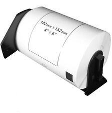 (10 Rolls) DK-1241 Brother Compatible Labels. Premium Permanent Core. DK1241