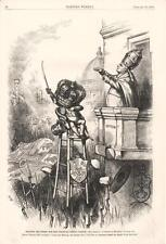 Spain Drawing his Sword for the Roman Catholic Church  - Thomas Nast - 1875