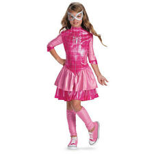 The Amazing Spider-Man Spider-Girl Deluxe Classic Costume Size  7-8 PINK 46314