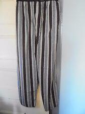 MONTE CARLO POLO & JOCKEY Sze L Cotton Pajama Lounge Pants Bottoms New