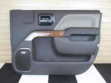 2015 GMC Sierra 2500 HD Interior Door Panel Front Passenger Bose 2 Tone