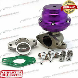 38MM 2 BOLT WASTEGATE PURPLE 12PSI TiAL Style F38 Air Cooled 1 Year Warranty