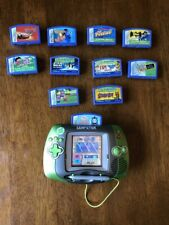 Leapfrog Leapster Learning System rechargeable battery 11 Games Star wars Cars