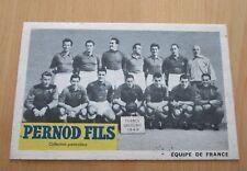 1949 EQUIPE DE FRANCE  PERNOD FILS   CARTE POSTALE NEUVE