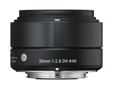 Sigma a 30mm F2.8 DN Black for Micro Four Thirds