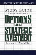 Options As a Strategic Investment 4th Edition Study Guide