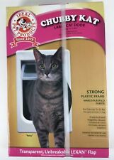 """New Ideal Pet Products Chubby Kat Large Cat Door 7 1/2"""" x 10 1/2"""" Cats"""