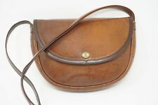 Gold PFeil Sport Women's Vintage Bag Crossbody Purse Brown Leather