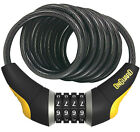 OnGuard 8031 Doberman Cable Bike Resettable Combination Lock 6' x 12mm Combo