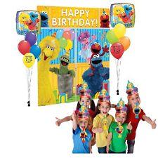 Sesame Street Party Supplies Selfie Photo Balloon Decoration Hats Blowouts