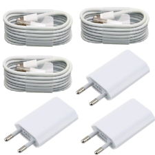 3xUSB Ladekabel Kabel Ladegerät Netzteil für Original iPhone 7 iPhone 5 / 6 / 8