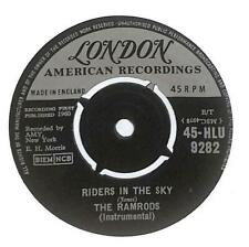 """The Ramrods - Riders In The Sky - 7"""" Vinyl Record Single"""