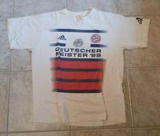 FC Bayern München: T Shirt :Deutscher Meister 1999, Größe L