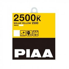 NEW PIAA 2500K SOLAR Yellow 2500 H3C Headlight Halogen Fog Light Bulb HY104
