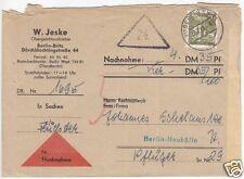 Nachnahme - Brief, Berlin West, Michel 150 EF, o (1) Berlin SW 11, 17.7.61